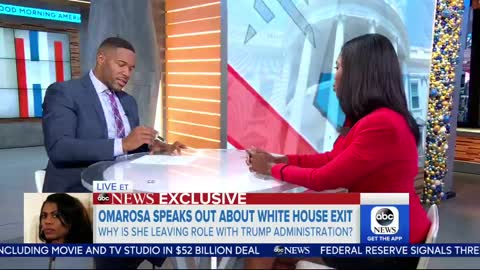 'GMA' Co-Host Robin Roberts Literally Just Said 'By Felicia' to Omarosa