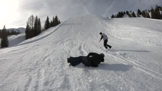 New Meaning to Freestyle Snowboarding