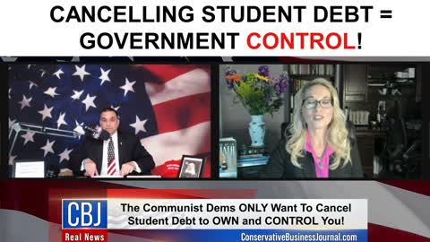 Cancelling Student Debt=Government Control!