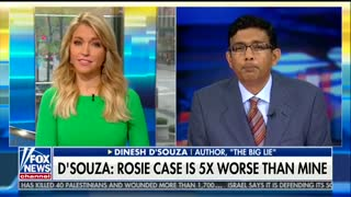 Dinesh D'Souza calls out Rosie O'Donnell for alleged campaign finance violations - Video