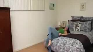 Girl And Her Very Tight Jean comedy video... - Video