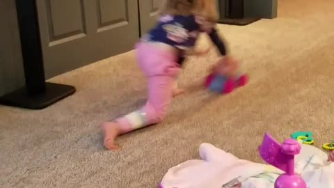 Toddler Practices for Winter Olympics