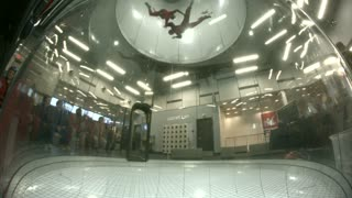 First time indoor skydiving!