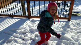 First Time They Ever Seen Snow. #3 San Antonio Texas