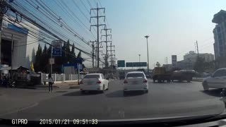 Close Call Car Accident - Video