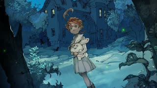 The Promised Neverland Isabella's Lullaby OST relaxing piano music + night ambience
