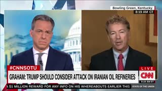 Rand Paul slams Liz Cheney and backs US withdrawal from Afghanistan