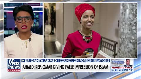 Dr. Qanta Ahmed believes Rep. Omar is a disgrace to Islam