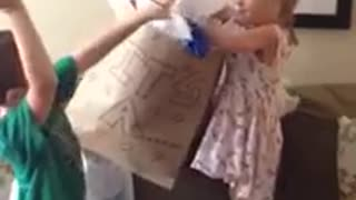 Little Girl Is Not Happy With Baby Gender Reveal - Video