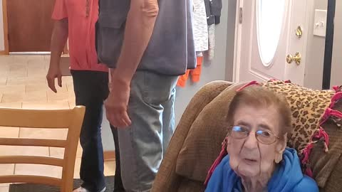 102 Year Old Mother Doesn't Want Her 70 Year Old Son To Go
