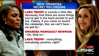 Omarosa releases call with Lara Trump - Video