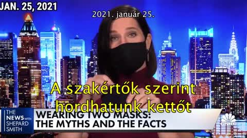 Fauci about masks in 2020 March and 2021 January