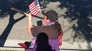 Trump Veteran's Day Rally today in Murrieta California