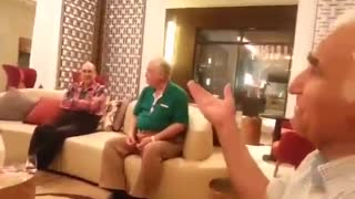 Old Man Sings for His Friends - Video