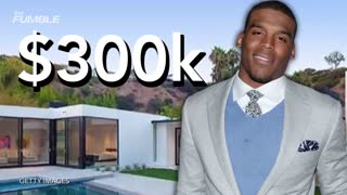 Cam Newton Being Sued For Trashing Beverly Hills Mansion - Video