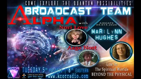 The Universal Consciousness Show with Aage Nost, Nori Love, Marilynn Hughes, Spiritual Worlds