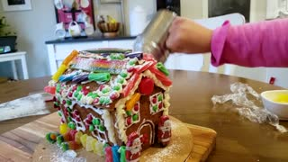 Our Gingerbread house