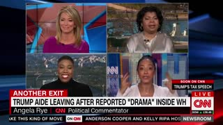CNN Commentator Screams, Gloats Over Omarosa Manigault Leaving White House - Video
