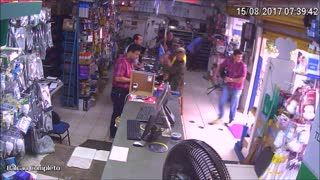 Truck Invades Store - Video