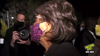Maxine Waters Calls for More Violence and Rioting!