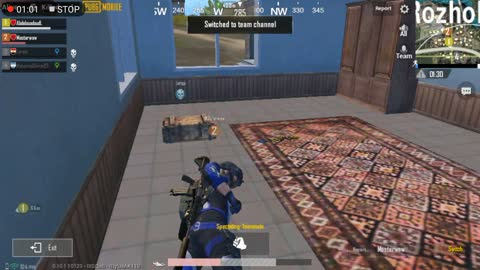 Pubg Mobile Game 6 Enimies Outside House Near Drop & Big Fighting War