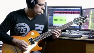 Guile's Theme Street Fighter II Guitar & Drum Cover - Video