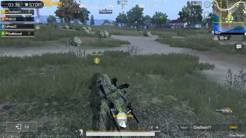 Sniper takes Out Mountain Intruders Pubg Mobile