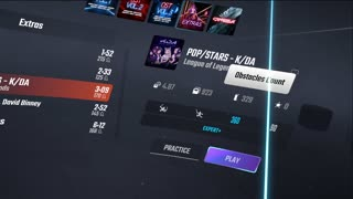 More Beat Saber. Tried something different
