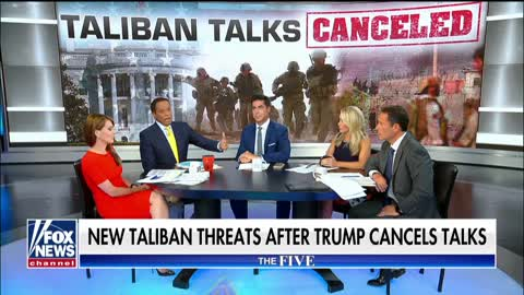 The Taliban Wanted To Celebrate 'Chasing America Out' Of Afghanistan - Not Have Peace Talks [VIDEO]