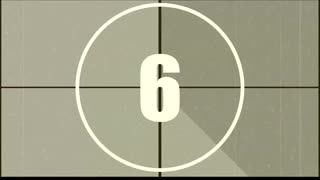 Clock Countdown Time Video Clips