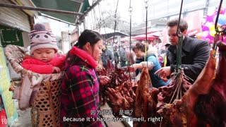 Unheard of Chinese Street Food You MUST Try | Farmers Market in China 2 - Video