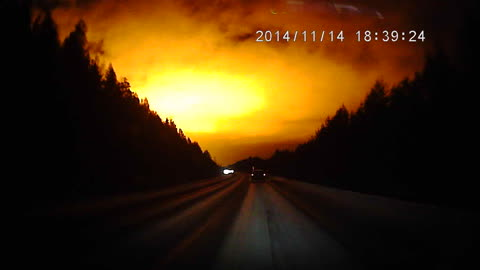 Explosion in the Russian Sky