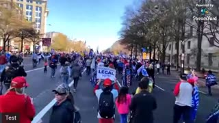 Live stream : March for Trump - DC Part3
