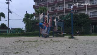 Compilation of a kid hitting his head and falling - Video