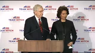 Mitch McConnell speaks to press after Election Day