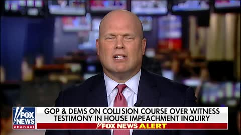 Former AG Matt Whitaker Says Americans Won't Be Happy If 'Whistleblower' Doesn't Testify