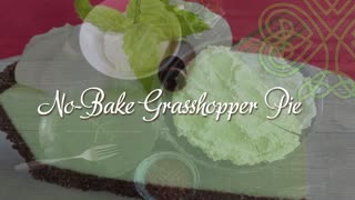 No-bake grasshopper pie recipe - Video