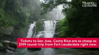 Drop What You're Doing and Buy a $199 Flight to Costa Rica - Video