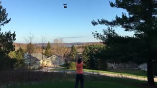 Collab copyright protection - amazon drone delivery fail drop - Video
