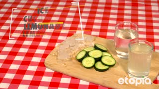 Refreshing Cucumber Lemonade - Video