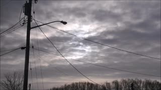 Amazing video of the Sun Lighting up the Clouds - Video
