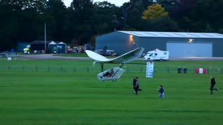 Human powered flight at Old Warden