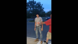 Fist Fight Between 40-Year-Old and 15-Year-Old - Video