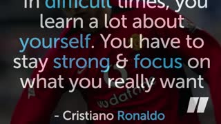 The inspiring story of Cristiano Ronaldo - Video