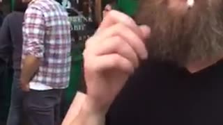 Paddy's day in Iceland  - Video