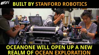 Robotic Mermaids Hunt For Sunken Treasure - Video