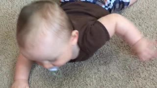 Lukas is this swimming or crawling? - Video