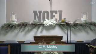 Pastor C. M. Mosley, Series: Great Questions From The Bible, Is Not This The Carpenter's Son