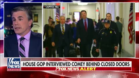 Tom Fitton reacts to Comey's closed-door testimony