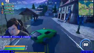 Checkout my reaction to the cars in Fortnite!